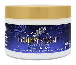 Feather & Down Sweet Dream Body Butter 300ml Now £2 Free delivery with Prime £4.49 delivery non prime @ Amazon