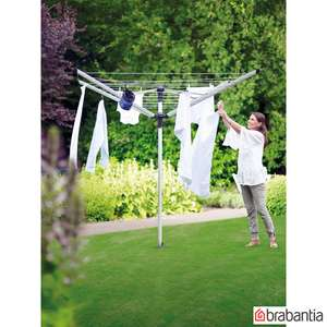 Brabantia Lift-O-Matic 60m Rotary Airer with Ground Spike + Cover - £66.89 @ Costco