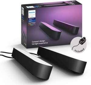 Philips Hue Play White and Colour Ambiance Light Bar - Double Pack, Black - £71.12 Delivered (UK Mainland) @ Amazon Germany