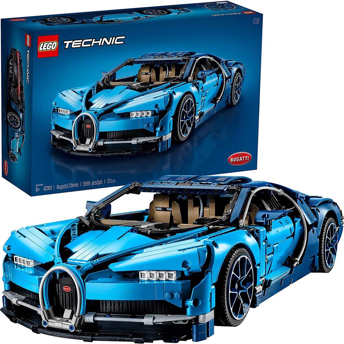 LEGO Technic Bugatti Chiron Collector Model Car - 42083 (Excellent (Grade A) > Refurbished) - £194.30 @ StockMustGo