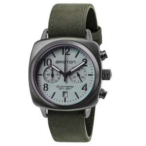 Briston 15140.SPG.C.12.LVB Clubmaster Classic Grey Watch £99 at HS Johnson