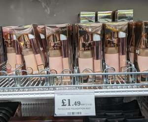 Physicians Formula foundation assist £1.49 at Home Bargains Liverpool