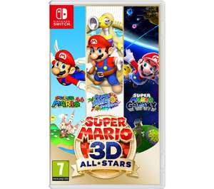 Nintendo Switch Super Mario 3D All-Stars £34.99 with code (free collection only) @ Currys PC World