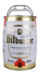 Bitburger 5litre mini keg £14.44 (£4.99 delivery) @ Adnams Cellar and Kitchen