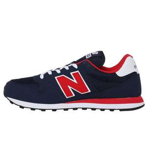 New Balance Men's 500 Trainers Navy/Red £39.98 delivered (£34.99 with delivery pass) @ MandM Direct