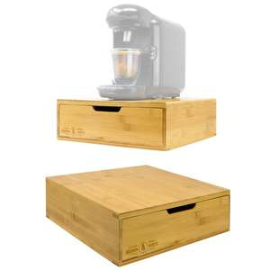 Bamboo 64 Coffee Pod Drawer - £10.49 Delivered Using Code @ Roov