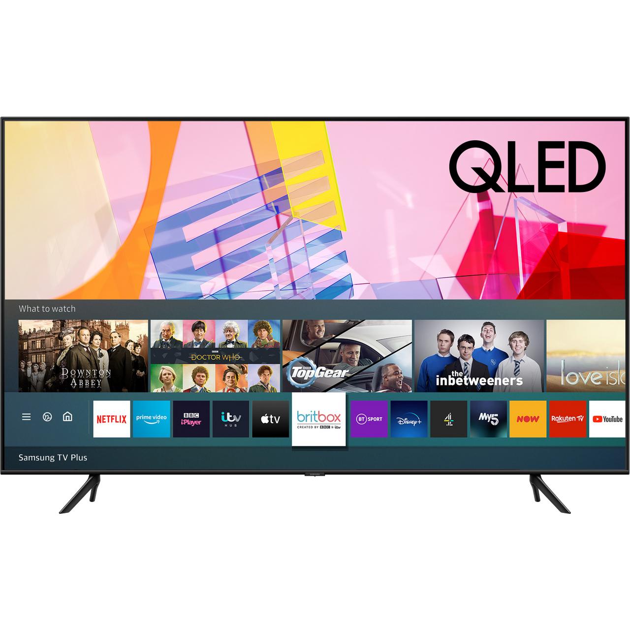 Samsung QE50Q60TA Q60T 50 Inch Smart 4K Ultra HD QLED Freeview HD and Freesat £559.55 at AO ebay