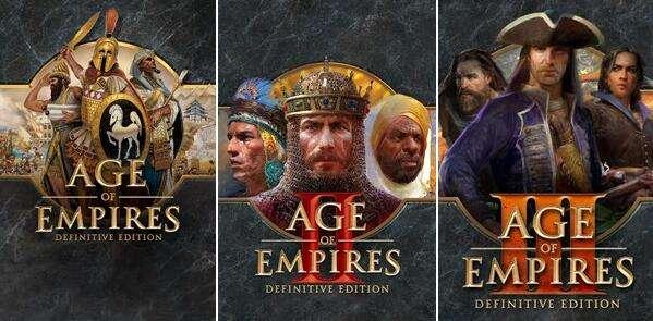 [PC Windows] Age of Empires Definitive Edition £1.17 - AOE II DE £3.21 - AOE III DE £3.60 @ Microsoft Brazil Store