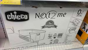 Chicco next to me crib £119.99 instore Home Bargains Blackpool