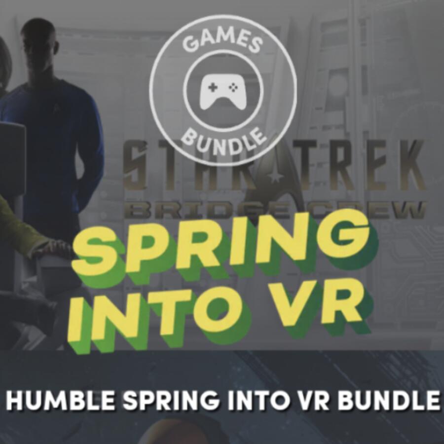 Humble Bundle Spring Into VR Bundle - Borderlands 2 VR, Star Trek, Job Simulator, Espire 1 & More - £10.77 @ Humble Bundle