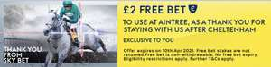 Sky Bet - £2 free bet opt in (Select Accounts)