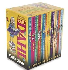Roald Dahl Phizz Whizzing Collection 15 copy new look (Yellow) - £12.99 (+£4.49 Non-Prime) - Sold and Shipped by CBS distribution @ Amazon