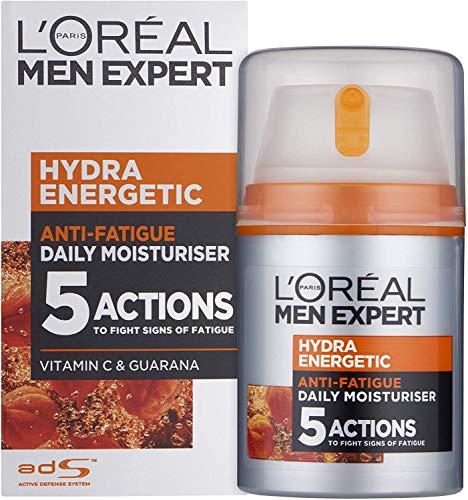 L'Oréal Paris Men Expert Hydra Anti-Fatigue Moisturiser, 50ml - £4.95 (£3.71 S&S) (+£4.49 Delivered) @ Amazon