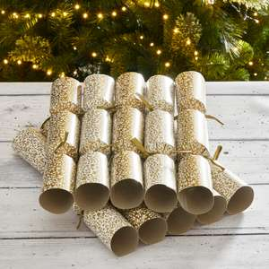 10 premium recyclable gold berry crackers gold - 50p Instore Only @ Dunelm (Livingston)