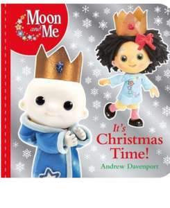 Moon and Me It's Christmas Time Book £3.97 (+£2.99 non-prime) @ Amazon
