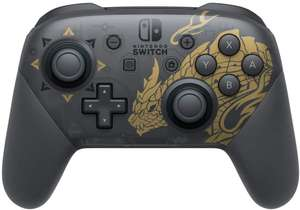 Nintendo Switch Pro Controller Monster Hunter Rise Edition - £59.99 delivered @ Smyths