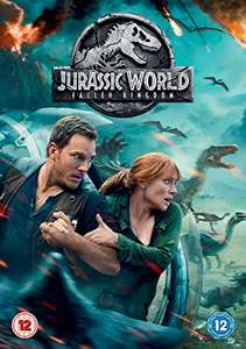 Jurassic World: Fallen Kingdom [DVD] £1.39 Delivered + £2.99 Non Prime @ Amazon