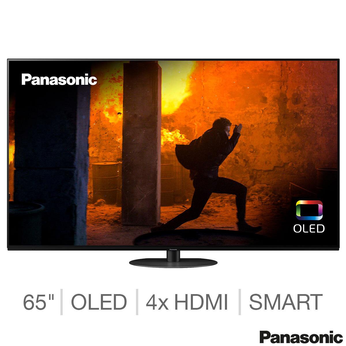 "Panasonic 65HZ980B 65"" OLED 4K UHD Smart TV (2020)- £1399.99 /or 55HZ980B 55""- £999.99 +FREE SC-HTB400EBK Soundbar @ Costco (+5 yr warranty)"