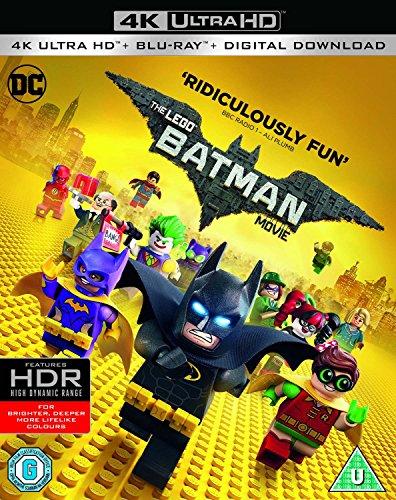 The Lego Batman Movie 4K UHD + 2K Blu-ray (with Dolby Atmos) + Digital Download - £8 (+£2.99 Non Prime) @ Amazon