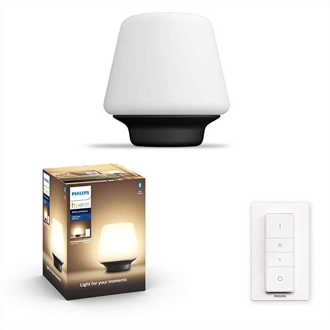 Philips Hue White ambience Wellness Smart table lamp Bluetooth/Zigbee LED, E27 £59.06 @Amazon