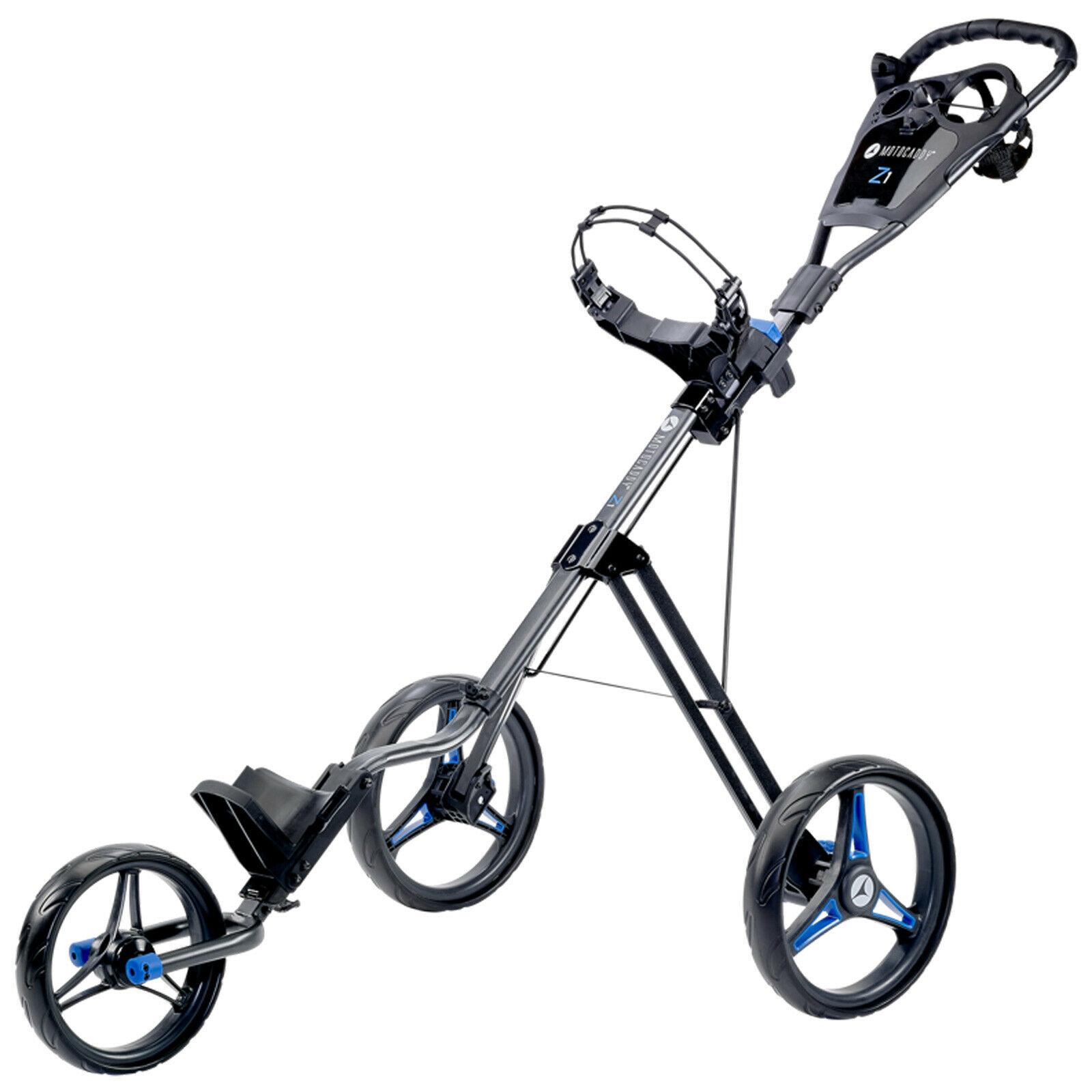 2021 Motocaddy Push Golf Trolley Three Wheel Cart Easy Foldable Lightweight £84.18 ebay / moresportsoutlet
