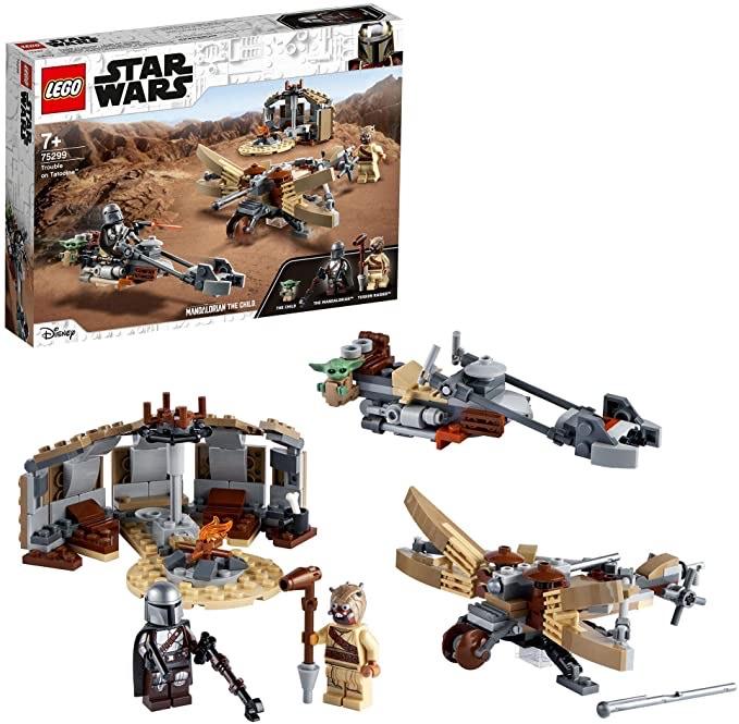 LEGO Star Wars 75299 The Mandalorian Trouble on Tatooine Building Set £22.40 at Amazon