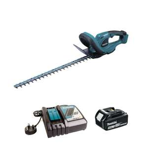 "MAKITA DUH523RT 18V LXT 52CM/20.5"" CORDLESS HEDGE TRIMMER INC 1X 5.0AH BATTERY - £175 @ Power Tool World (UK Mainland only)"