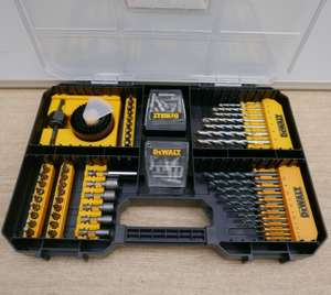 Brand New Dewalt DT71569 100pce Drill and Screwdriver Set in a Tstak Drawer £25.37 with code @ abbeypower / eBay