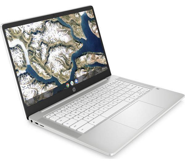 "HP 14a 14"" Chromebook - Intel® Pentium® Silver, White Refurb-A - £203.32 (using code, UK Mainland) @ Currys Clearance / Ebay"