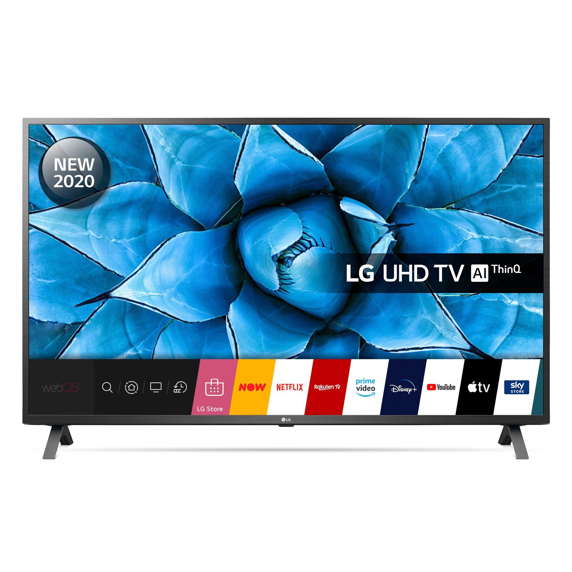 LG 55UN73006LA 55 4K Ultra HD Smart TV with webOS £379.95 using code @ eBay / Hughes Electrical