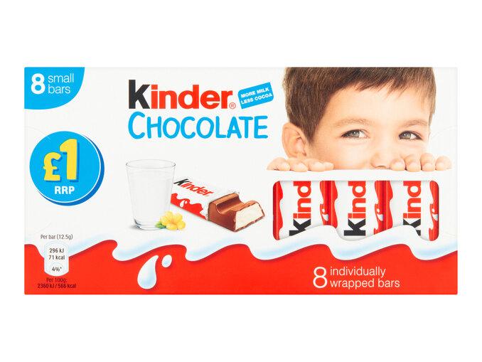 Kinder Snack Bar 100g 99p @ Lidl