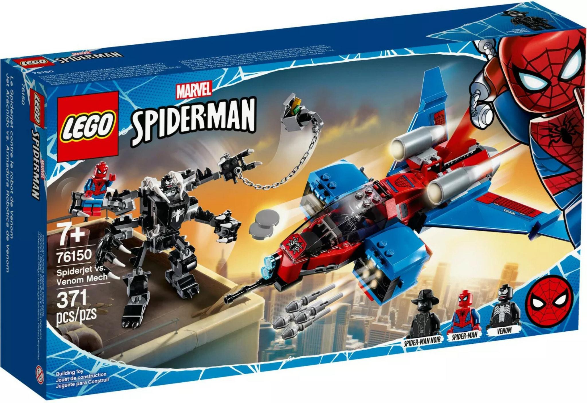 Lego 76150 Spiderjet vs. Venom Mech & 76157 Wonder woman vs Cheetah £17.50 at Sainsbury's (Pepper Hill)