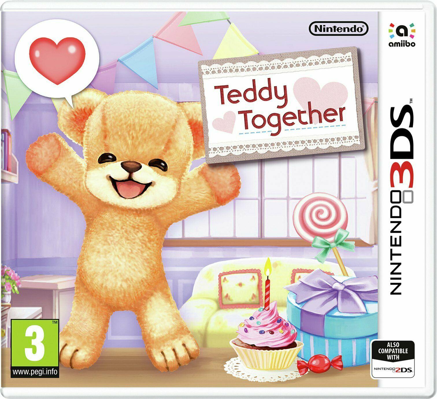 Nintendo 3DS game Teddy Together - £1.25 delivered @ Argos / eBay