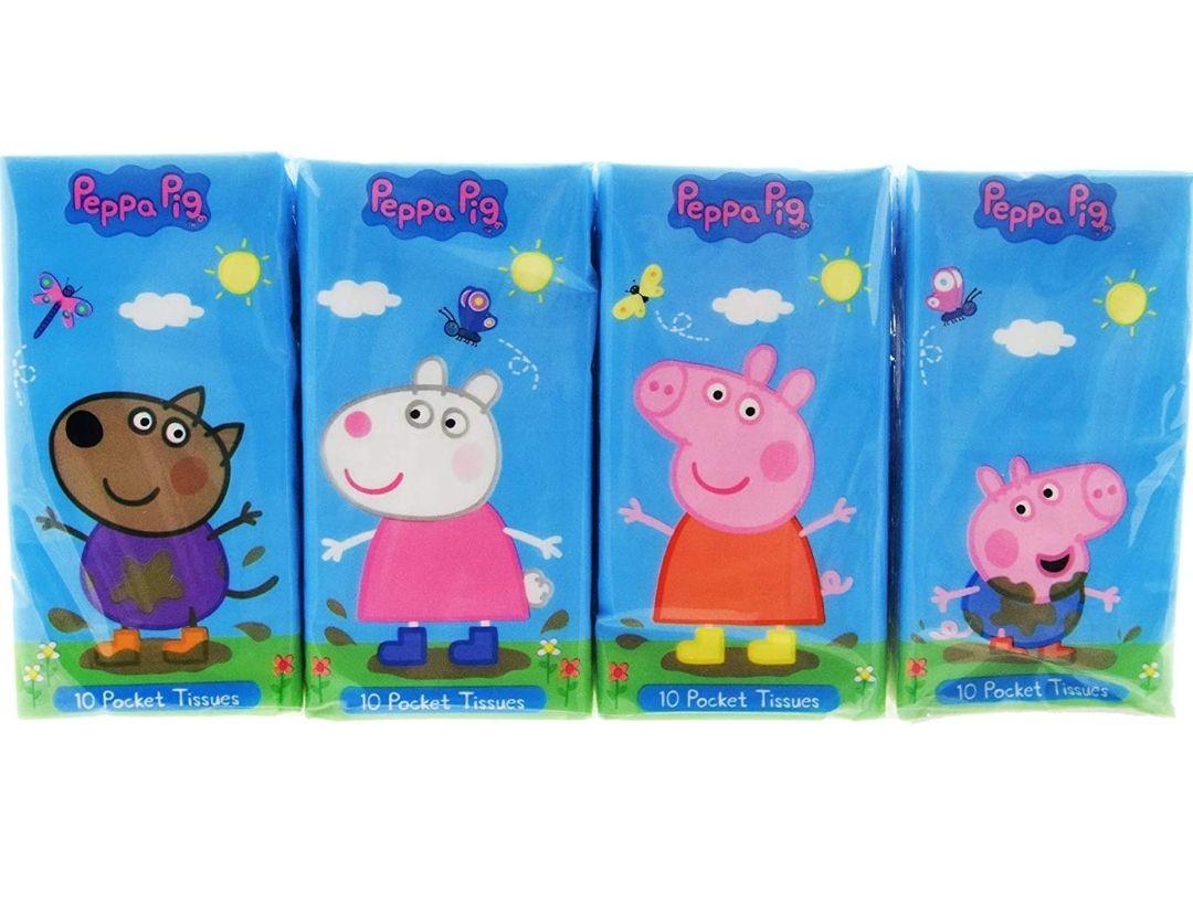 Peppa Pig 8 packs of pocket tissues £1 (+£4.49 Non Prime) at Amazon
