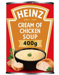 Heinz Cream Of Chicken Soup 400g 66p prime / £5.15 non prime (others in description) @ Amazon
