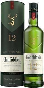 Glenfiddich 12 Year Old Single Malt Scotch Whisky 70cl - £27 @ Amazon