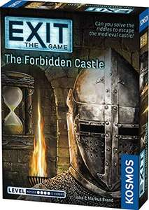 EXIT - The Game - The Forbidden Castle. £7.95 delivered with Amazon Prime. (£12.94 without)