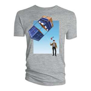Doctor Who: T-Shirt: TARDIS Kite Adventures (SDCC 2019) - £3.99 Delivered @ Forbidden Planet