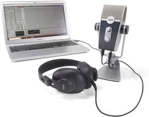 AKG Lyra Microphone and K371 Headphones with Ableton Live 10 Lite - £120.46 @ Amazon