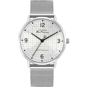Ben Sherman Quartz Watch with Stainless Steel Mesh Bracelet & Silver Sunray Dial £18.75 (+ £2.95 delivery) @ WatchShop