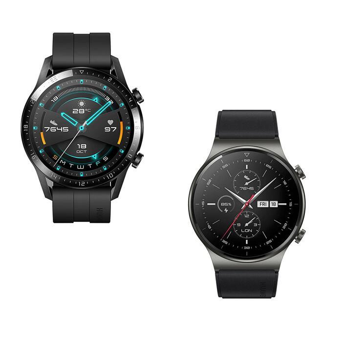 Huawei Watch GT 2 46mm Sport Smart Fitness Watch In Black or Orange - £84.99 Delivered / GT 2 Pro £159.99 @ Jacamo