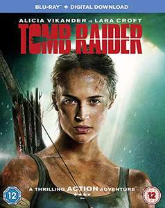 Tomb Raider Blu-ray with Dolby Atmos £2.75 prime / £5.74 non prime @ Amazon