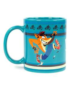 Official crash bandicoot 20oz mug £4.99 + £2.99 delivery @ JustGeek