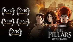 Ken Follett's The Pillars of The Earth / Deponia: The Complete Journey / The First Tree Free via Epic Games