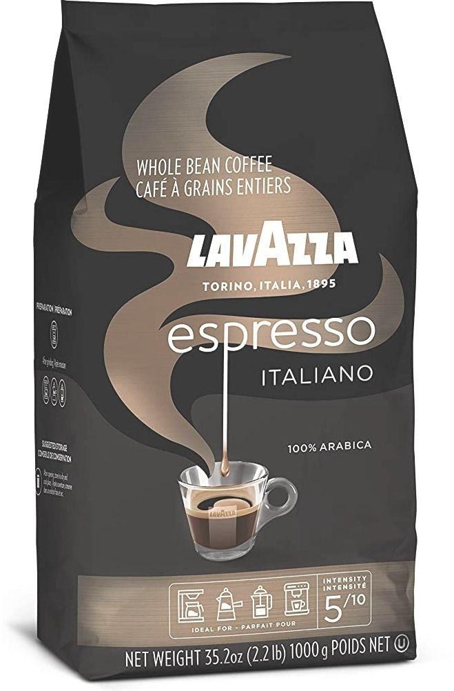 Lavazza Espresso Italiano, 100 Percent Arabica Medium Roast Coffee Beans, Pack of 1 kg £10.80 Amazon Prime (+£4.49 Non prime)