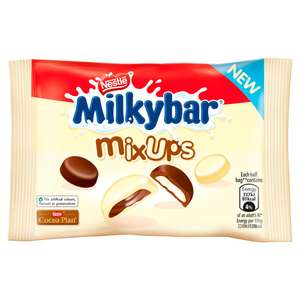 Milkybar Mix Ups 32.5g Packs are 5 for £1 (29p each) @ Farmfoods Accrington