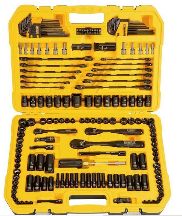 DEWALT® 181 Piece Mechanics Tool Set £99.99 @ Costco