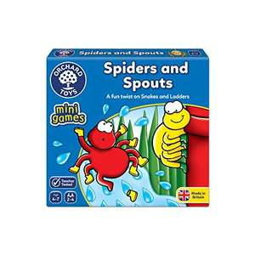 Orchard Toys Spiders and Spouts Mini Game £3.13 (+£4.49 non-prime) @ Amazon