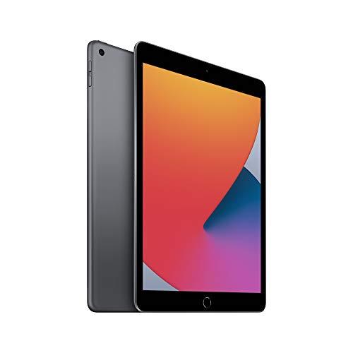 Apple iPad 8th Gen (10.2-inch, Wi-Fi, 128GB) - Space Grey £399.97 @ Amazon
