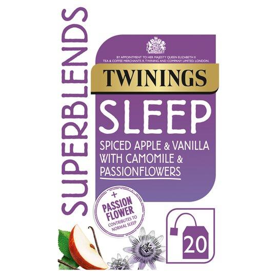 Twinings Superblends 20 Herbal Tea Bags - Various flavours £1.35 (Clubcard Price) @ Tesco